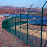 Geschweißtes Ineinander greifen-Panel-Zaun China-3D verwendet für Aufbau