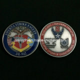 Gold Finish를 가진 주문 Military Police Officer Metal Badge Coins