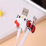 이동 전화를 위한 최고 귀여운 만화 USB 선