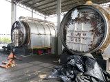 spreco 1.5MW ad olio con il pneumatico residuo \ gruppo elettrogeno di verdure \ di plastica dell'olio di pirolisi