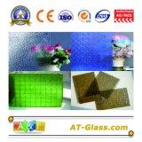 vidro de teste padrão de 3-8mm/vidro modelado desobstruído/vidro modelado matizado para o indicador