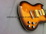 Falso Maple Top P90 Pickups Qualidade Custom Sg Guitarra elétrica