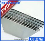 Panneau composé en plastique en aluminium pour des plates-formes d'étalage