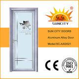 Choisir les portes en aluminium en verre de salle de bains d'oscillation (SC-AAD020)