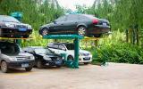 Sola elevación hidráulica del estacionamiento del poste 2015
