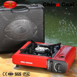 Mini fourneau de gaz portatif campant de butane