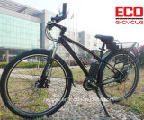 Bateria de lítio e bicicleta da cidade e para a bicicleta elétrica da polícia