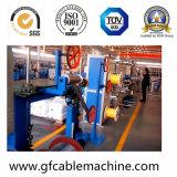 Cadena de producción de la protuberancia de la máquina de la fabricación de cables del alambre de gota de FTTH con el material de LSZH