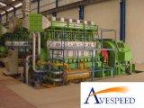 50MW (25X2MW) Hfo/conjunto diesel de la planta/de generador de Poewr