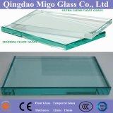 glace de flotteur claire plate de 15mm pour la construction/dessus en verre de Tableau