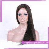 Parrucche lunghe medie del nero di getto
