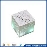 Altofalante sem fio de Bluetooth do cubo de Qone Rubik portátil dramático