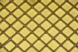 Couleur jaune de mosaïques métalliques d'or (W02)