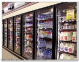 Glastür für Kühlraum