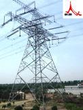 Передающая линия гальванизированная сталью электричества башни