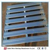 El almacén de la alta calidad galvanizó la paleta amontonable de acero de la fabricación de China