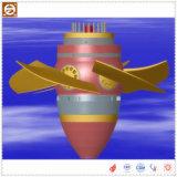 Générateur de turbine de l'eau d'écoulement axial avec la turbine d'acier inoxydable