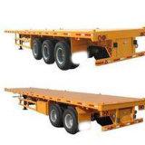 Flatbed Semi Aanhangwagen 3axle van uitstekende kwaliteit