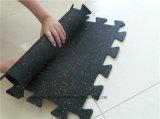 Pavimentazione di gomma di puzzle di ginnastica dell'interruttore di sicurezza dell'interno di sport