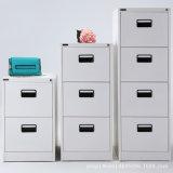 Gabinete de armazenamento cinzento da limalha de aço da gaveta da mobília de escritório 4