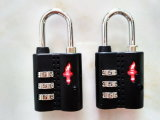 수화물 케이블 Tsa 조합 Lock&Travel 부대 자물쇠