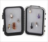 Fliegen-Fischerei-Gerät-Plastikkasten