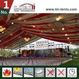 結婚式のイベント展覧会のためのドイツのハンガーのテントの玄関ひさしの構造