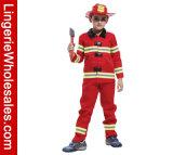 Комплект Costume игры роли пожарного мальчика платья партии Halloween ребенка