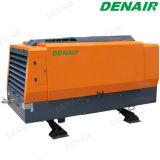 Compressore d'aria rotativo guidato diesel della vite di 100 Cfm per estrazione mineraria