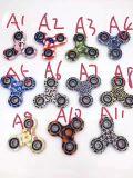 Barretta d'ottone del giocattolo di EDC della lega di alluminio degli ABS del metallo con cuscinetto di ceramica ibrido