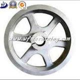 Volante del hierro/de la arena/rueda volante para la bici de ejercicio magnética apta de la carrocería de interior