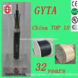 Кабель сердечника GYTA 6 напольный, котор сели на мель оптически для сообщения