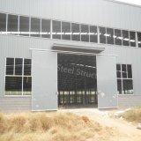 Gran taller de la estructura de acero del precio con la oficina