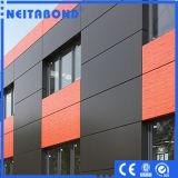 El panel compuesto de aluminio para la construcción
