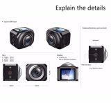 Vr360 Helmcamera 220度のWiFiの遠隔コントローラのスポーツの処置のカメラ