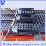 Il LED segna la pressa meccanica con lettere di alluminio di CNC del piatto del foro per lavorare con servizio post vendita