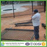 호주에 도로 또는 수영장 담에서 사용되는 직류 전기를 통한 루프 최고 관 강철 담