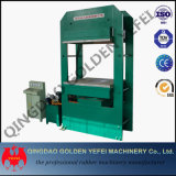 Couvre-tapis en caoutchouc faisant à machine la machine de vulcanisation de presse de plaque en caoutchouc avec à faible bruit
