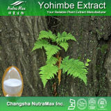 100% Corynante naturel Yohimbe/extrait écorce de yohimbine (HCL de yohimbines de 8%98%)
