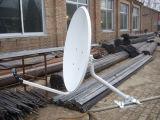 Ku60cm Antenne van TV van de Schotel van Eurostar zet de Satelliet met Pijp op