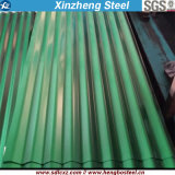 강철판 루핑 장이 Dx51d PPGI 강철 제품에 의하여 직류 전기를 통했다