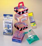 Casella piegante di plastica dell'animale domestico libero molle trasparente della scatola