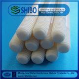 Tubo de cerámica Wear-Resistant del alúmina, tubo de cerámica distinguido