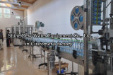 2000-24000 bottiglie automatiche per imbottigliatrice dell'acqua di ora