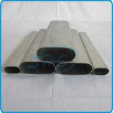 Câmaras de ar ovais inoxidáveis do plano de aço para a construção