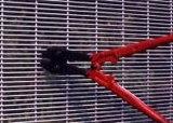 المجلفن أو البلاستيكية المغلفة 358 سياج مضاد للتسلق مرتفعا الأمن