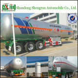 Stahlaluminiumkraftstoff-Transport LPG-Becken-LKW-Schlussteil