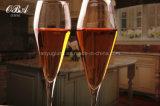 cálice do cristal de classe 200ml elevada, vidro de vinho com entregar a fatura