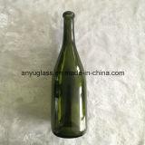 Оптовая 375ml темнота - бутылки вина льда зеленого стекла