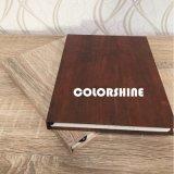 De madera de alto grado como el cuaderno educativo